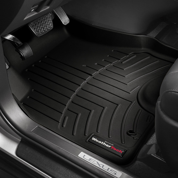 Weathertech molded floor liners 1st row black